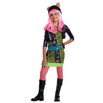 Monster High Traje - Howleen Niñas Pequeño Vestido De Lujo