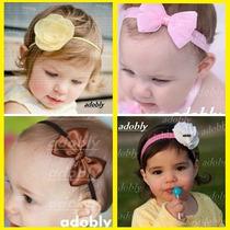 Paquete De 20 Diademas Tiaras Bebes Niña X $399 De Calidad