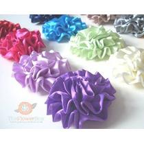 Mayoreo 30 Flores De Tela Colores Surtidos