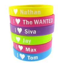 Pulseras De Silicon The Wanted