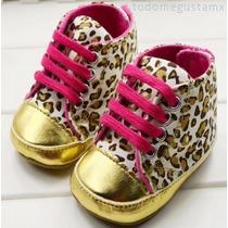 Zapato Tenis Para Bebe Animal Print / Excelente Calidad