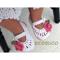 Zapatos Bebe Sandalias Tenis Tejidos Zapatitos Niña Regalo