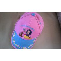 Gorra Infantil Para Niña Princesas Disney Marca Ruz