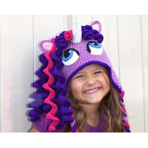 Gorrito De Crochet Estilo My Little Pony