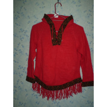 Sweaters: Lana Alpaca Y Tipo Bluson Hermoso