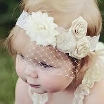 Banditas Elegantes Ceremonias Bautizo Especial Niña Bebe