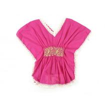 Vestido Rosa Sin Marca Visible