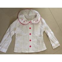 Camisa Niña Bordada Talla 1-2