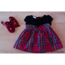 Vestido Bebe Niña Talla Rn Nuevo Op4