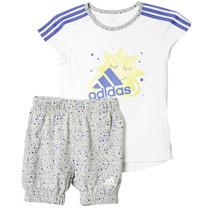 Conjunto De Entrenamiento Para Bebe Niña Adidas Ab6979