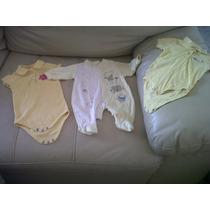 Lote De 3 Piezas De Ropita Para Bebés De 3 Meses