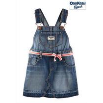 Envio Overol 2 Anos Oshkosh Nina Mezclilla Azul Vestido Ve