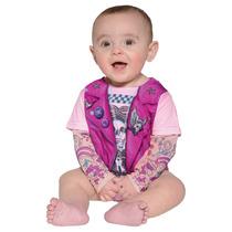 Pañalero Para Bebé Motociclista Para Niña