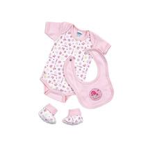 Pañalero Bebe Baby Set De 0 A 3 M-rosa Ropa Bebe Baby Mink