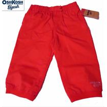Hermoso Pantalon Oshkosh Rosa Coral 12 Meses 1 Ano Nina Bebe