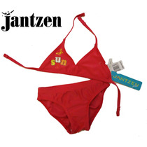Traje Bano 2 Anos Bikini Nina 24 Meses Jantzen Rosa Logo Usa