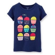 Playera Con Cupcakes De Bebe Carter