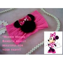 Bellisimos Accesorios De Minnie Mouse Banditas Diademas
