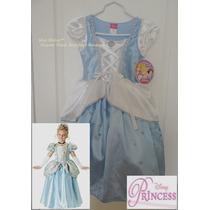Rematoo Hermoso Vestido De Lujo Cenicienta Original Disney
