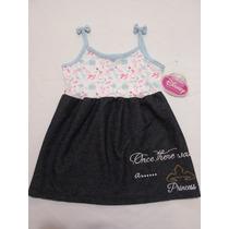 Vestido Para Niña Bebe 4 Años Princesa Disney Hm4