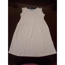 Vestido Para Niña Bebe Blanco 1 Año Importado Hm4