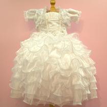 Vestido Menina Paje Organza Niña Mod: Mini Paola