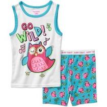 Pijama Blusa Shorts Para Niña Talla 18 Meses Envio Gratis