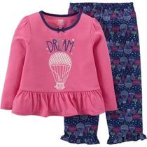 Conjunto Pijama Blusa Pantalon Carters 12 Meses Envio Gratis