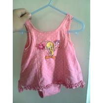 Piolin Vestido Para Bebe Original T-12m Verano,niñas
