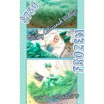 Frozen Tutu Pettiskirt Super Esponjada+blusa Diseño Elsa
