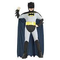 Batman Clásico Traje De Halloween Niños-ee.uu. Tamaño 4-6 (e