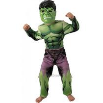 Hulk Traje - Niños Niños Pequeños Marvel Comic Book El