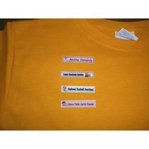 Etiquetas Con Nombre Bebe Para Marca Ropa Guarderia Escuelar
