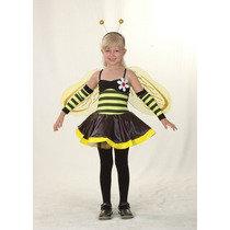 Bumble Bee Costume - Chicas Childs Vestido De Lujo De Nueva