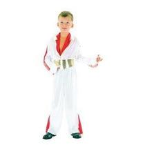 Elvis Disfraz - Hombres Estrella Del Rock Del Vestido De Luj