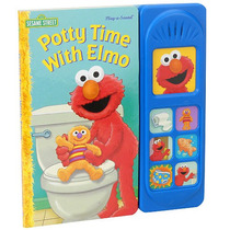 Potty Time Con Elmo Play-a-sound Libro - Barrio Sésamo