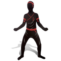 Ninja Morphsuit Traje - Niños M Japonesa Del Guerrero Del C
