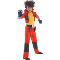 Bakugan Dan Clásico Traje De Halloween - Niño Tamaño Grande