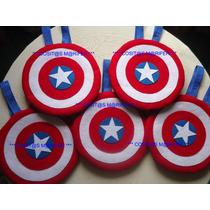 Mochila Dulcero Fiesta Regalo Y Cumpleaños Capitán América !