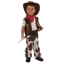 Vaquero Traje - Niños Toddler Fancy Dress Edades 3 Años