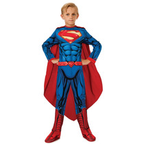 Disfraz De Superman Returns - Niños Childrens Grande 8-10 A