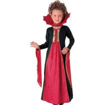 Traje Del Vampiro - Gothic Vampiress Medio Niños Del Vestid