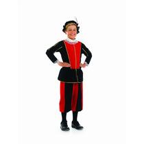 Tudor Traje - Niños Gran 8-10 Años Boy Vestido De Lujo