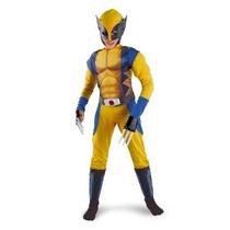 Muscle Classic X-men Wolverine Traje Niño - Medio (7/8)