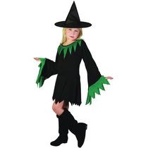 Traje De La Bruja - Medio Chicas Niños Niños De Halloween