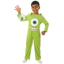 Monsters Inc Traje - Childs Mike S Kids Verde Fantasía