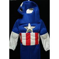 Disfraz Para Niño Del Capitan America La Mejor Calidad