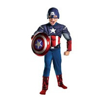 Capitan America Musculoso Original Maa