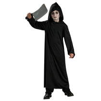 Horror Niños Traje - Negro Robe Medio - Halloween Scary