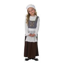 Disfraz Medieval - Niño Tudor Chica Grande